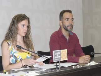 Lucía Guillén y Jesús Guerrero (PAR)