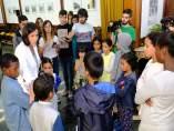 Recepción niños saharauis