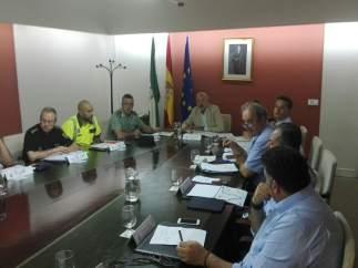 Reunión del Subdelegado y los diferentes ayuntamientos