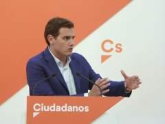 """Rivera, sobre Rajoy: """"No creo que pueda confiar ciegamente en él"""""""