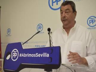 Ignacio Flores en rueda de prensa.