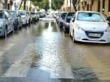 Balsa de agua en Pino Montano a cuenta del incidente.