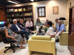 Reunión del PP con propietarios del sector F.