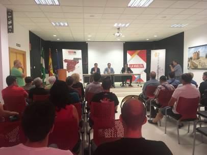 Presentación de la Vuelta Ciclista en Alcalá la Real