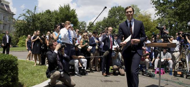 Jared Kushner, yerno de Donald Trump