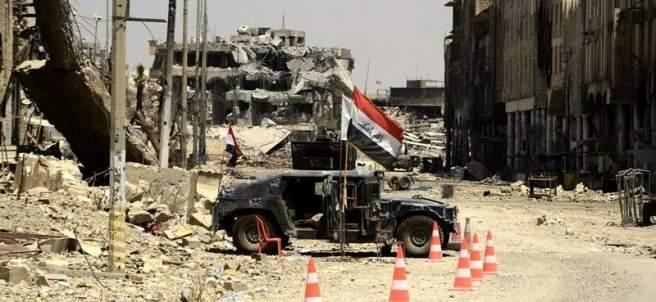 Destrucción en Mosul, Irak