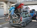 Viajar con objetos sueltos