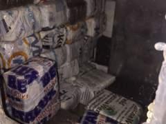 Nueve detenidos y 250 kilos de hachís incautados en una operación policial