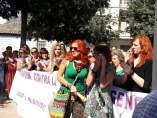 Concentración en apoyo a Juana Rivas