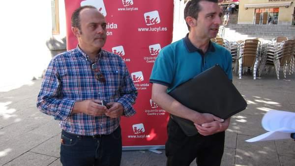 Segovia: El Coordinador Provincial De IU Y El Abo