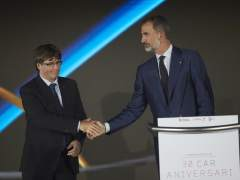 El rey pone a Barcelona 92 como ejemplo de que el éxito se consigue trabajando juntos