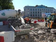El arreglo de calles centra las obras de mejoras en la capital de este verano