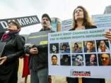 Manifestación a favor de los Derechos Humanos y las libertades públicas en Turquía