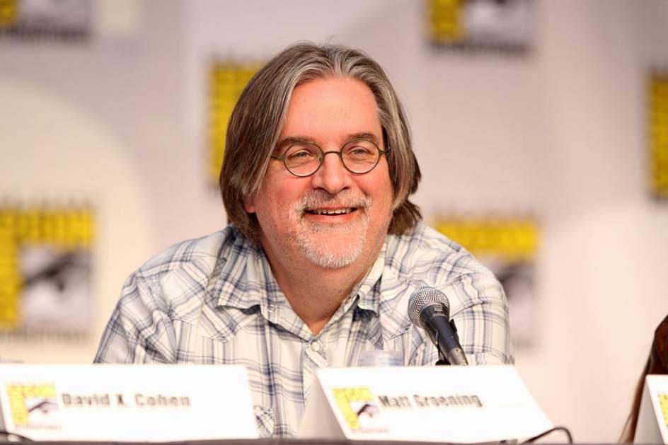 El creador de 'Los Simpson' prepara una serie para Netflix