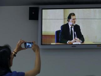 Rajoy testifica por los hechos de la Gürtel