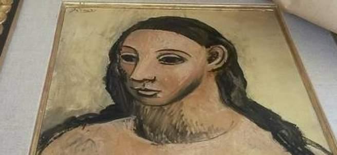 Intervienen el cuadro de Picasso 'Cabeza de una mujer joven'