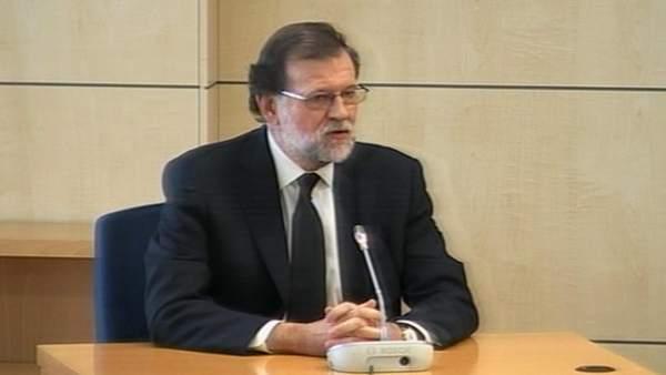 Rajoy declara por Gürtel en la Audiencia Nacional