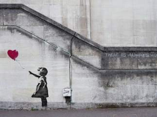 'Balloon Girl', de Banksy