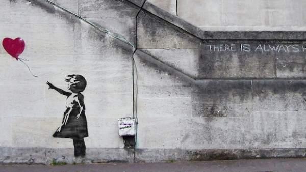 'Balloon Girl', de Banksy