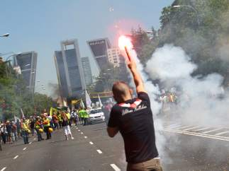 Huelga de taxistas contra las licencias VTC