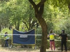 Cadáver en Parque Amate