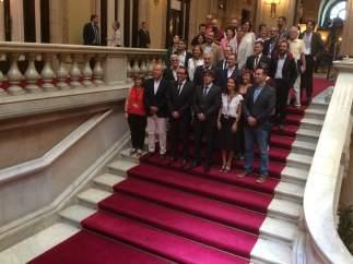 Aprobación de la Ley de Cambio Climático en el Parlament.