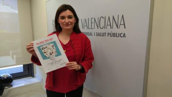 La consellera ha presentado un balance de los dos años al frente de Sanitat