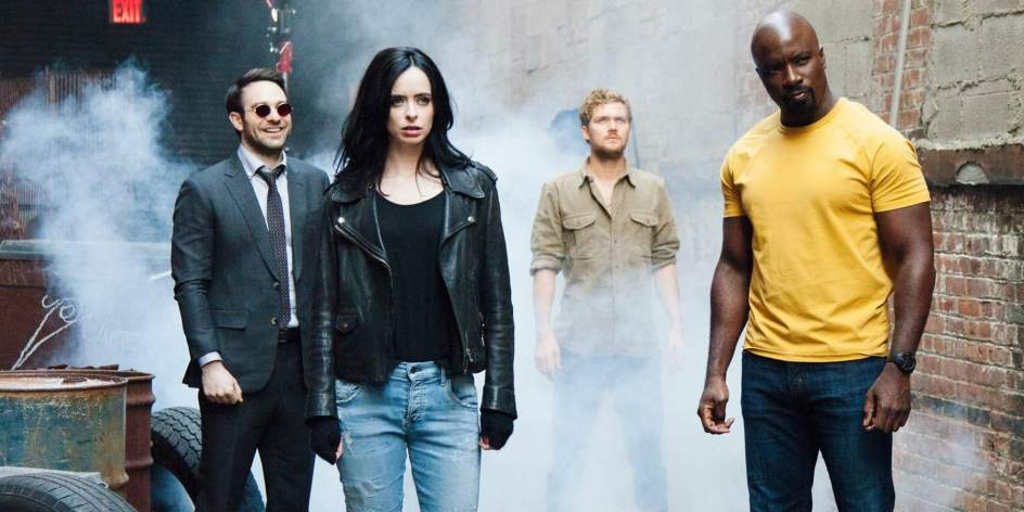 Netflix reúne a 4 superhéroes en su serie The Defenders