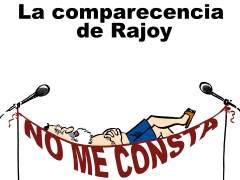 La comparecencia de Rajoy