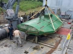 Incautan en Colombia el primer submarino eléctrico para transportar cocaína