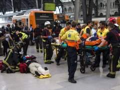 Al menos56 heridos en un accidente de tren en Barcelona