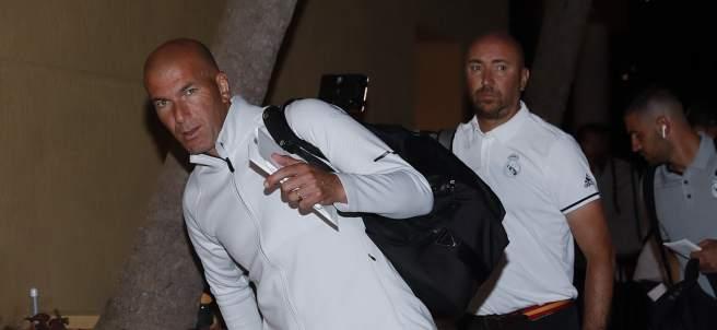 Zinedine Zidane en Miami