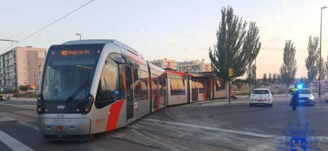 Tranvía, Zaragoza