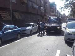 Desahuciada una familia con dos menores en Carabanchel