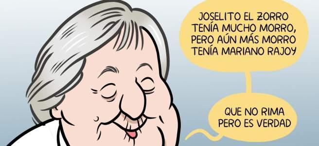 Centenario de Gloria Fuertes. La viñeta de Álvaro Terán