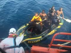 Rescatan a 41 inmigrantes en el Estrecho de Gibraltar