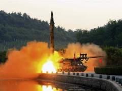 Corea del Norte lanza un misil contra el Mar de Japón
