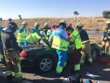 Accidente de tráfico en la M50