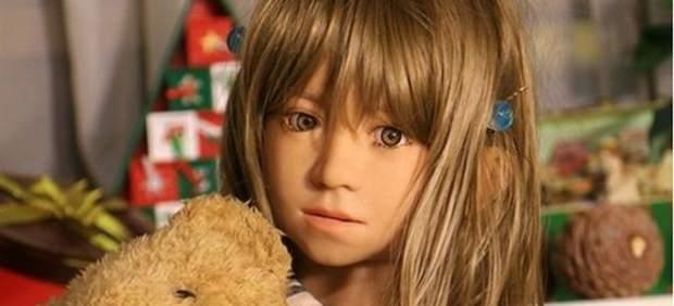 Muñecas sexuales con aspecto infantil