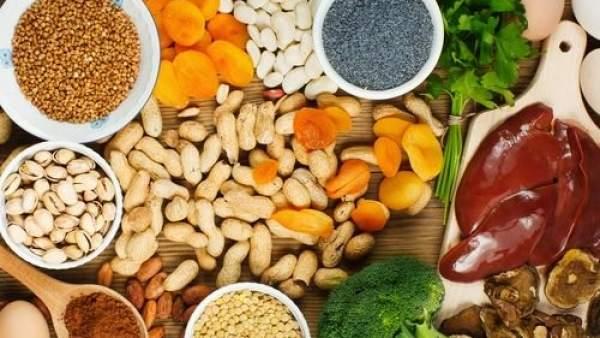 Alimentos para subir los niveles de hierro