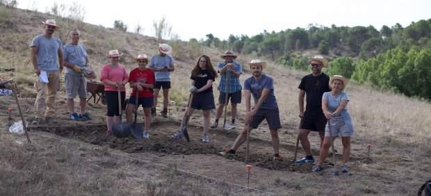 Segovia: los participantes  en las excavaciones