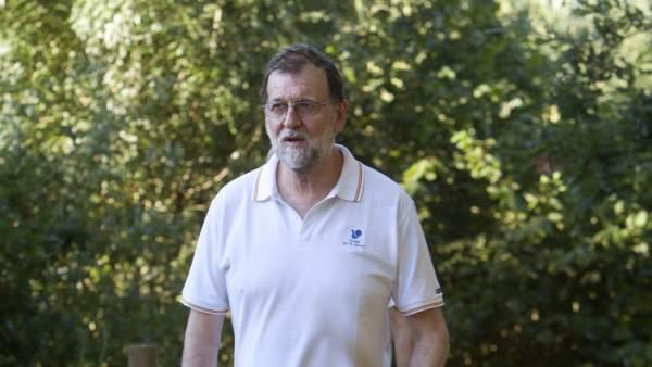 Mariano Rajoy en Ribadumia