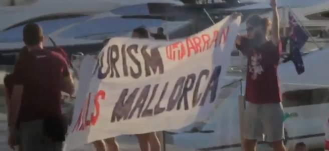 Arran ataca yates en Mallorca