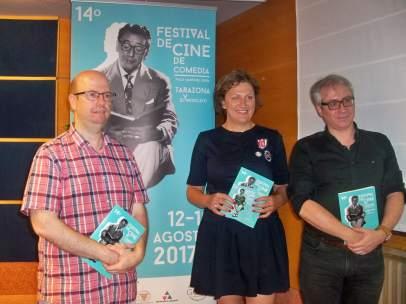 Presentación del XIV Festival de Cine de Comedia de Tarazona