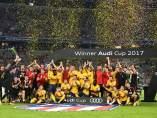 El Atlético, campeón de la Copa Audi