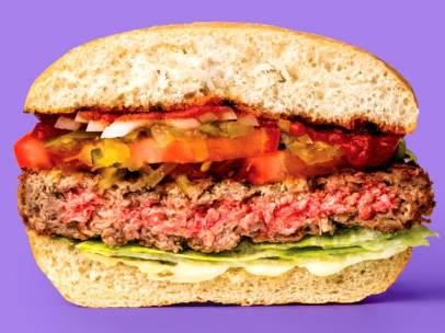 Una hamburguesa sin carne