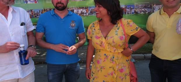 Segovia.- Luis Tudanca y la alcaldesa de El Espinar, Alicia Palomo