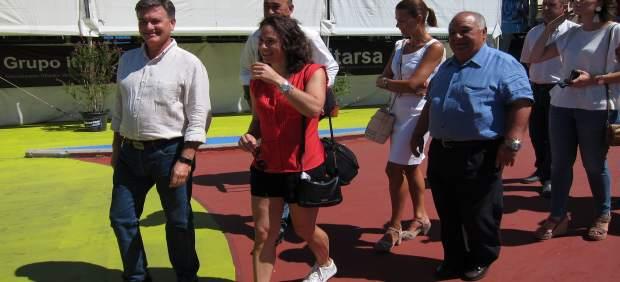 Segovia: Vázquez Visita El Open De Tenis