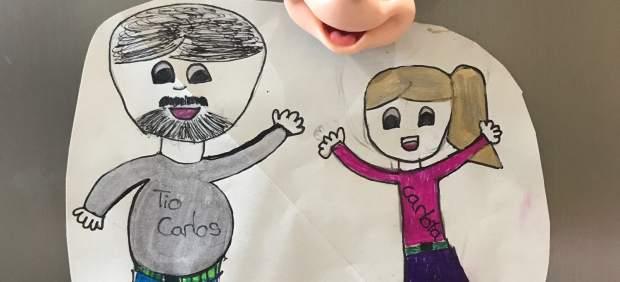 Dibujo de Carlota, la sobrina de Carlos G.Miranda
