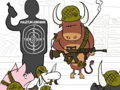 El folklore del maltrato animal. La viñeta de Nepomuk